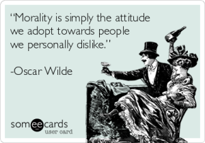 morality card