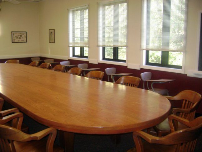 Classroom in Orlando Hall, photo by Rollins College