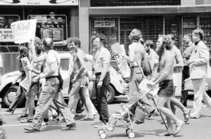 Gay Rights Demonstration in New York City by Warren K. Leffler, 1976 (LOC)