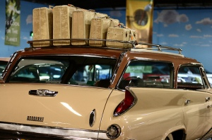 sloth vintage car