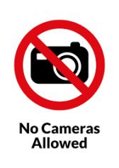 no photos