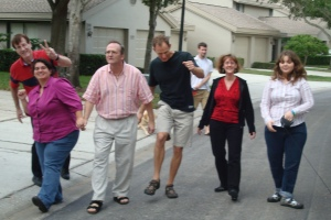 Annual Thanksgiving Silly-Walk