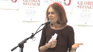 Steinem at Urban ReThink, October 2012