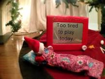 tired elf
