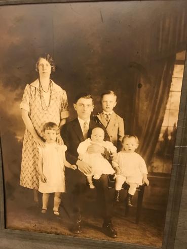 Nana with kids