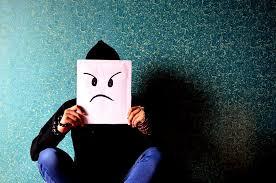 unhappy mask
